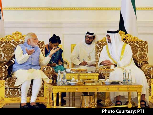Video : PM Modi on 2-Day Visit to UAE, to Discuss Terror, Trade With Top Leaders