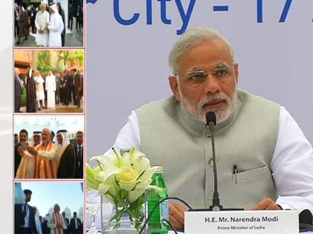 Video : Inherited Lethargy, Says PM in UAE, Taking Strike at Congress