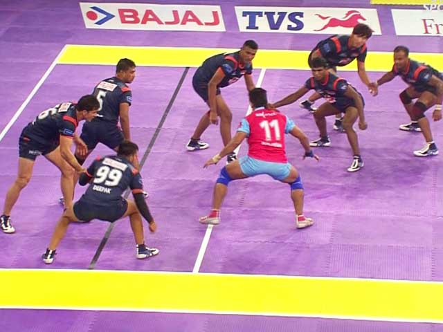 Video : Pro Kabaddi League: Bengal Warriors Beat Jaipur Pink Panthers in a Thriller