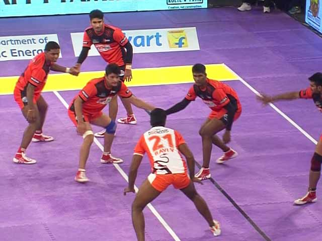 Video : Pro Kabaddi League: U Mumba Overcome Puneri Paltan in a Close Encounter