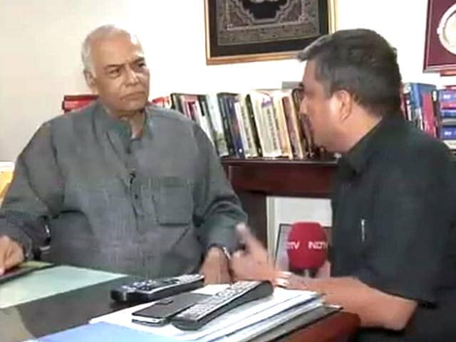 Video : NSA Talks With Pak Will Be a Dialogue of the Deaf: BJP's Yashwant Sinha