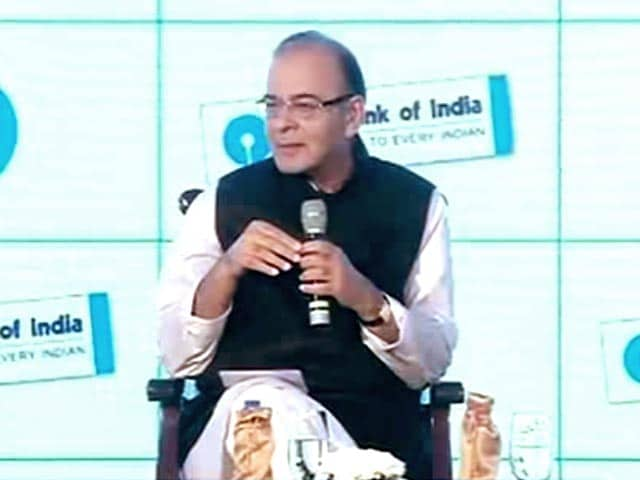 Video : Mahindra, Ambani Quiz Finance Minister Arun Jaitley on Economy
