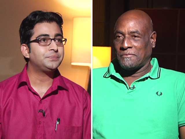 Video : 'Was Very Surprised to see Indian Batsmen Struggling Against Spin in Sri Lanka': Viv Richards