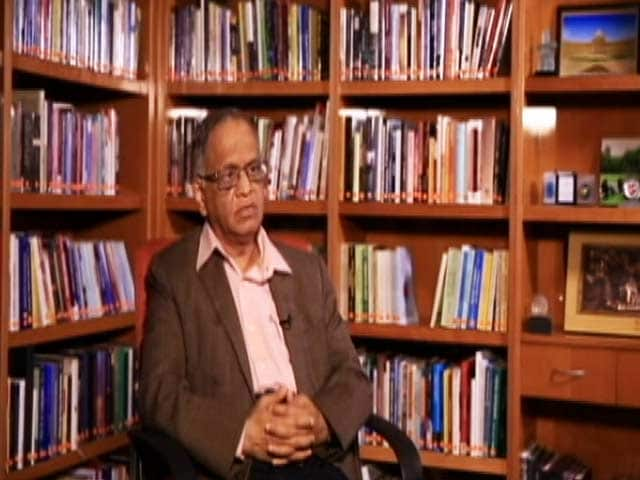 "Video : Narayana Murthy: ""Today I Have Lot More Confidence in Our Children"""