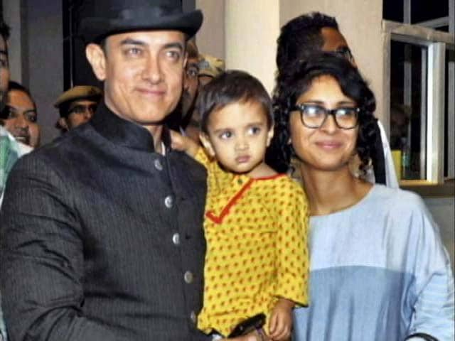 Aamir is a Protective Father