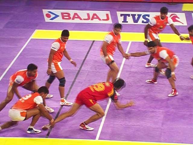 Video : Pro Kabaddi League: Bengaluru Bulls Edge Out Puneri Paltan 31-30