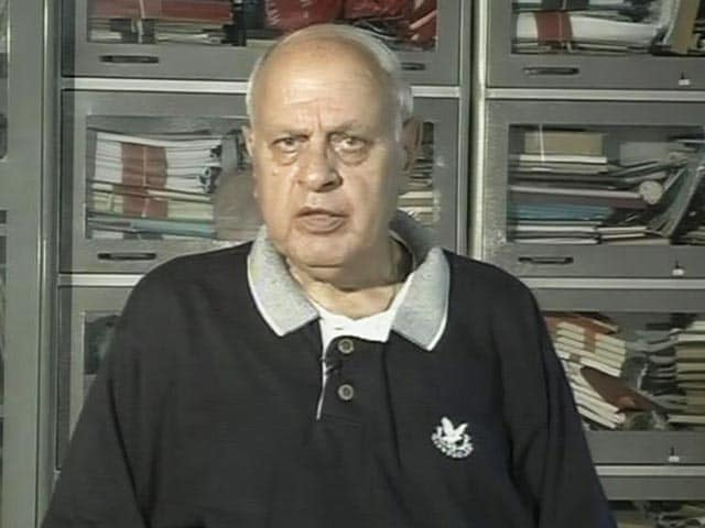 Video : Mufti Cannot Dare Act Against Hurriyat Conference, Says Farooq Abdullah