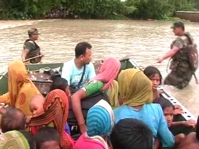 Video : 3 Dead, 6 Lakh Affected and 1,000 Villages Submerged in Assam Floods