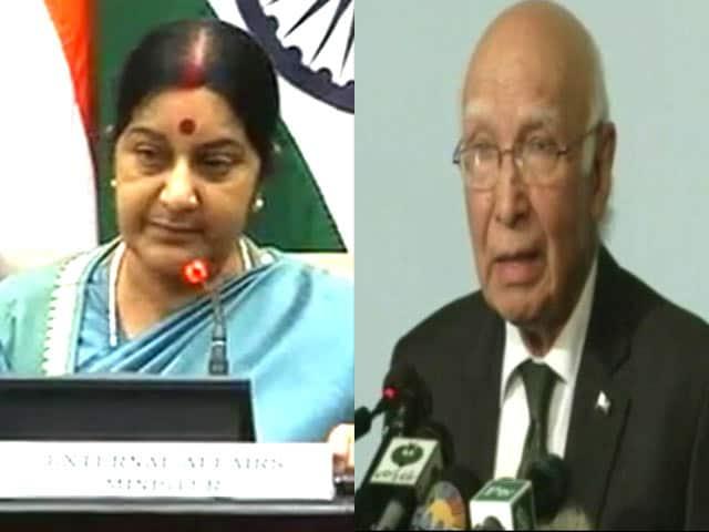 Videos : एनएसए वार्ता हुई रद्द, भारत नहीं आएंगे सरताज अजीज