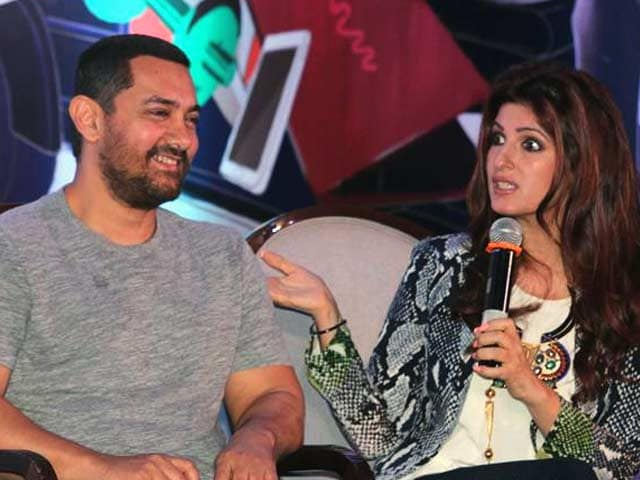 Video : Twinkle on Karva Chauth and What Could be Found on Aamir's Phone