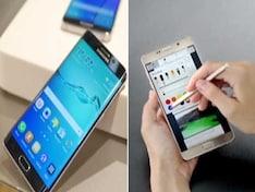 The Upper Edge: Samsung Galaxy Note 5, S6 Edge+