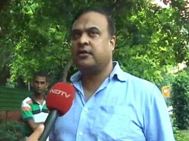 Video : Assam Congress Leader Himanta Biswa Sarma Meets Amit Shah, Will Join BJP Soon