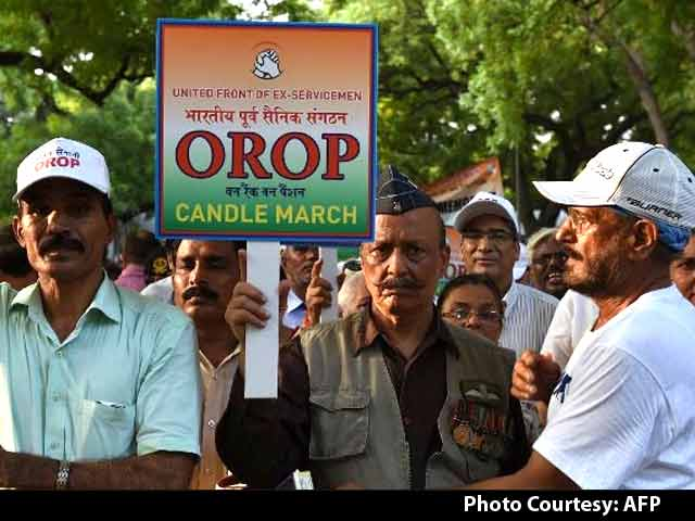 Video : Facing Heat Over OROP, Government Plans to Reach Out to Armed Forces