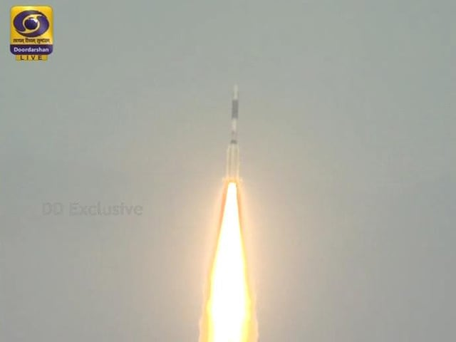 Video : ISRO Launches 25th Communications Satellite From Sriharikota