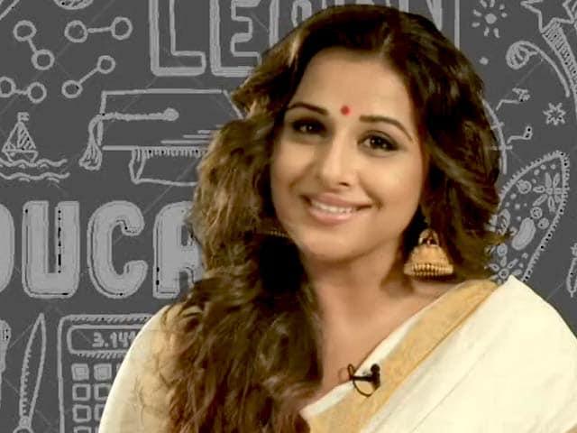 Video : Vidya Balan Salutes Teachers