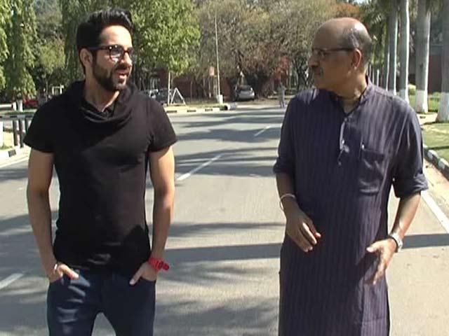 Video : Walk The Talk with Ayushmann Khurrana