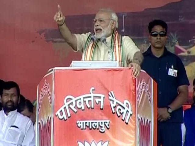 Video : 'All They Chanted Was Modi Modi': PM's Dig at Sonia Gandhi, Nitish Kumar