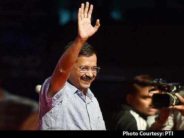 Video : Rock Concert Starring Arvind Kejriwal Rattles Rivals Ahead of Delhi University Polls