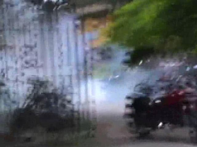 Video : Panic as Attackers Storm West Bengal University With Guns, Bombs
