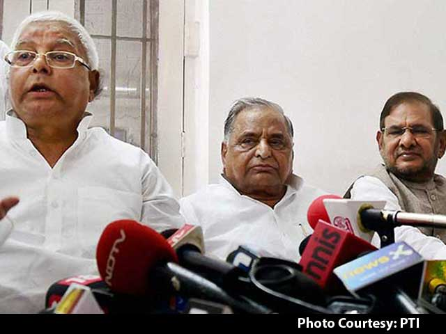 Video : Mulayam Singh Yadav Pulls Out of Bihar Alliance, Will Fight State Election Alone