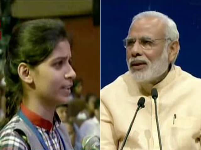 Video : Have No Fashion Designer, Never Met One: PM Modi Gets Candid With Students