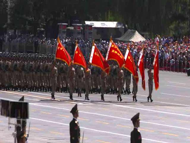 Video : Pomp and Power at China's Military Parade
