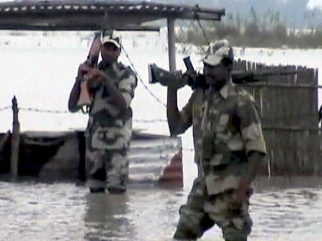Video : Border Outposts Submerged as Assam Floods Worsen, Patrolling Gets Tougher