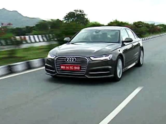 Audi A6 Gets Matrix Led With Facelift