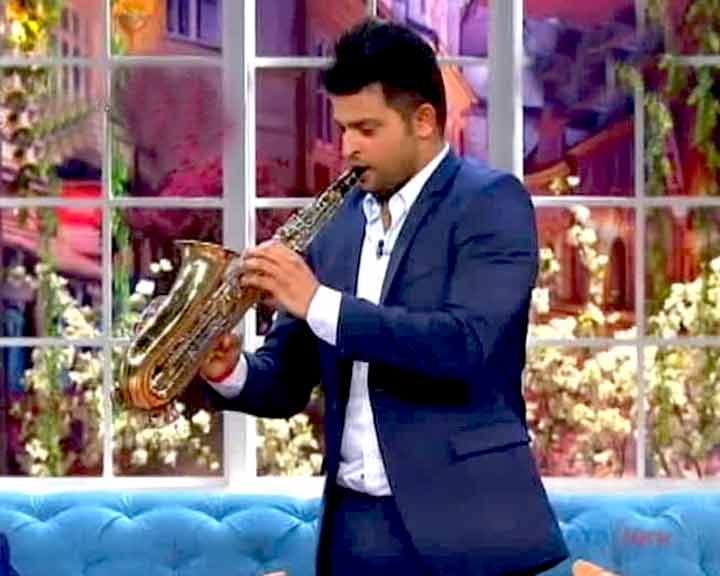 Video : Suresh Raina Displays His Musical Side in Popular Comedy Show