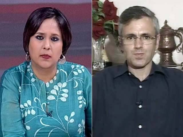 Video : Modi Government Has Package For Bihar, Nothing For Jammu and Kashmir Flood Victims: Omar Abdullah