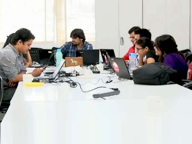 Video : 'India's Smelling Like Silicon Valley,' Say Start-Up Executives