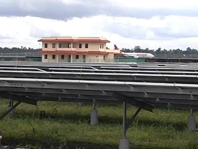 Video : The World's First Solar Powered Airport Now in Kerala's Kochi