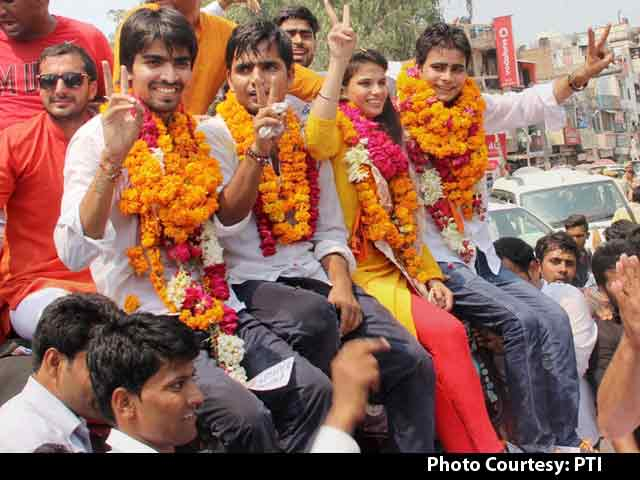 Video : BJP's Student Wing Sweeps Delhi University Polls, Second Year Running