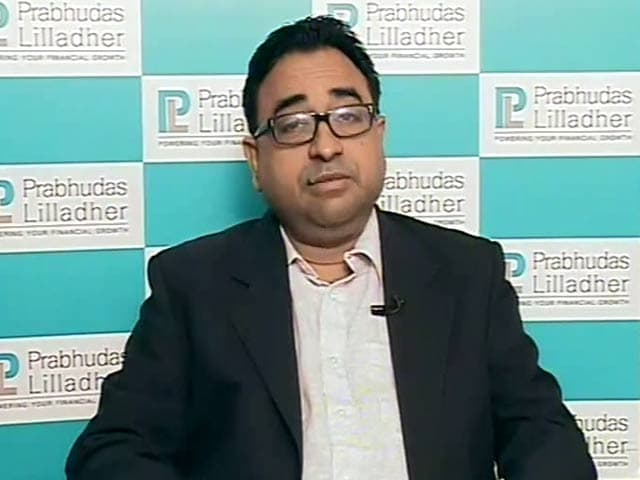 Video : Valuations Reasonable, Like Financials: Prabhudas Lilladher