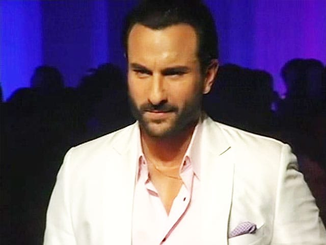 Video : Can't Play the Role of My Father: Saif