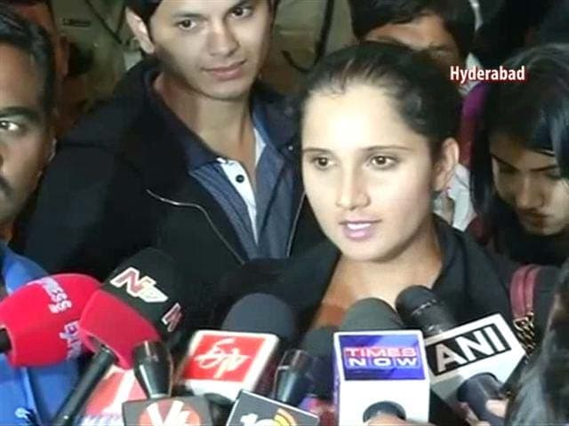 Video : Sania Mirza Returns Home, Dedicates US Open Title to People of India