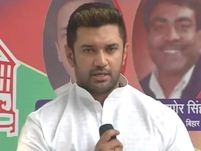 Video : Portion Control Problems for BJP. Ally Paswan 'Shocked' Over Bihar Seats
