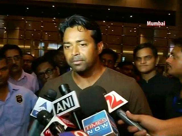 Video : Leander Paes Returns Home After US Open Triumph, Looks Forward to Davis Cup