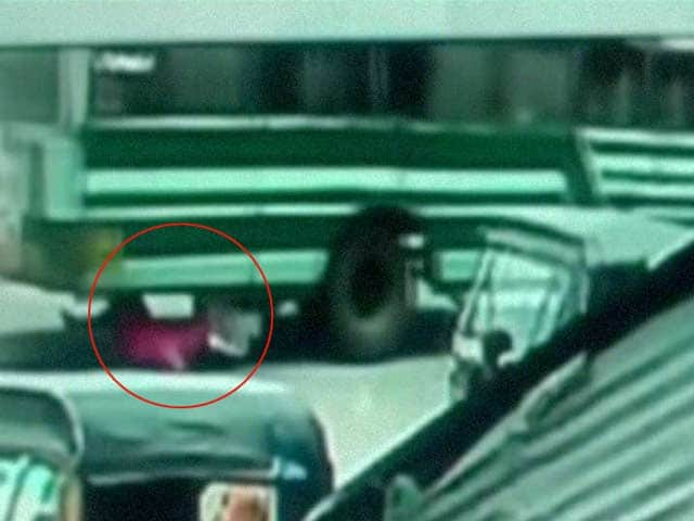 Video : Kerala Woman Falls on Road After Floor Panel of Bus Breaks