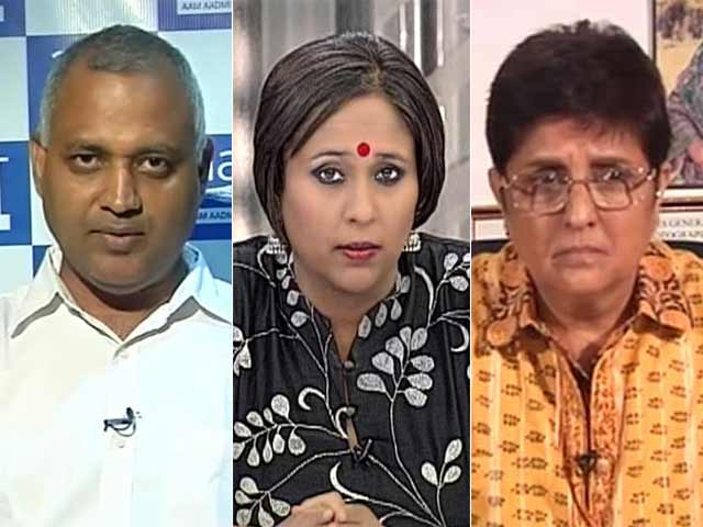 Video : Somnath Saga: Theatre of the 'AAP'surd in Delhi?