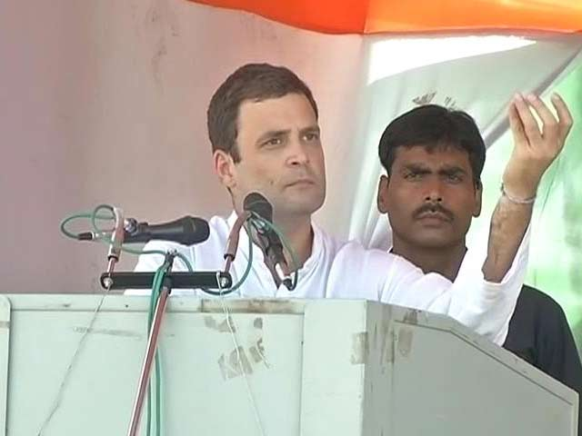 Video : At Rahul Gandhi's First Rally in Bihar, More 'Suit-Boot' Jibes at PM Modi
