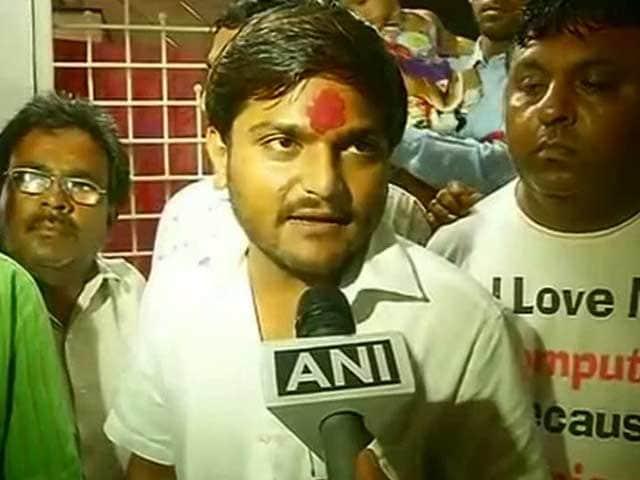 Video : Day After Hardik Patel Arrest, Mobile Internet Back in Gujarat