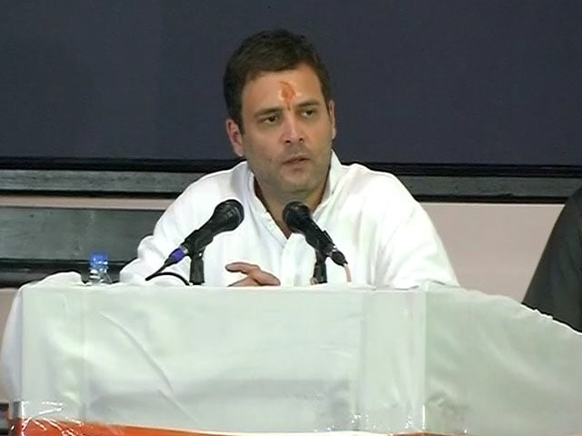 Video : Just Like Steve Jobs: Rahul Gandhi's Advice to Congress