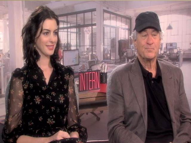Video : 'Bollywood? Sure,' Robert De Niro, Anne Hathaway Tell NDTV