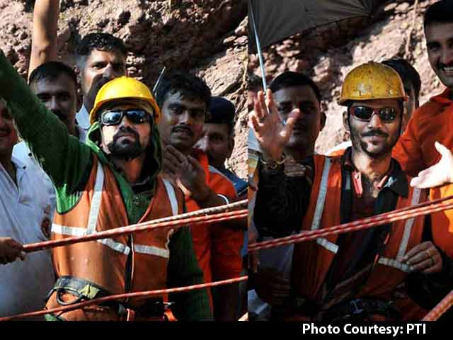 Video : Ate Paper, Say Men Who Survived 9 Days in Tunnel