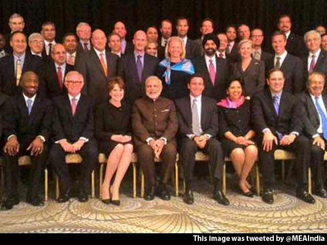 Video : At Dinner With Fortune 500 CEOs, PM Modi Serves up a New India