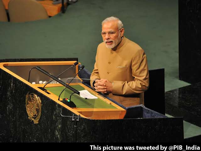 Video : 'Eradicating Poverty is Top Priority,' Says PM Modi at United Nations