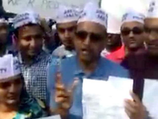 Video : A Patel Protest Outside UN Ahead of PM Narendra Modi's Speech