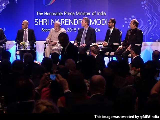 Video : 'We Believe You Will Change India and the World': Tech Giants tell PM Modi