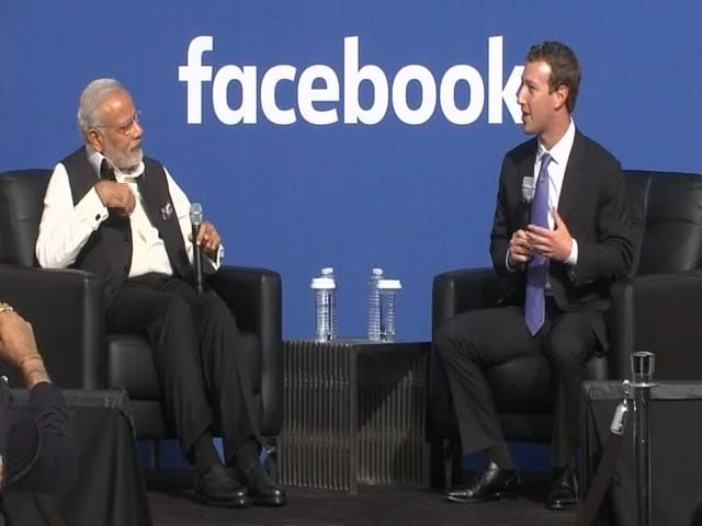 Video : PM Modi Addresses Townhall With Mark Zuckerberg at Facebook Headquarters